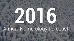 visharada numerology 2016 annual numerology forecast