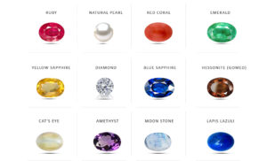 Gemstones visharada numerology navaratnalu